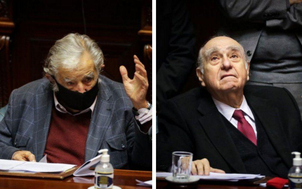 Uruguay: Mujica y Sanguinetti renunciaron el mismo día a sus bancas de senadores