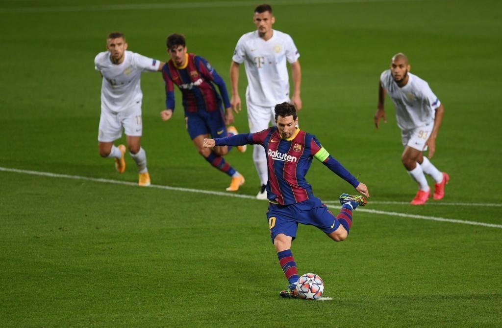 Con un Messi en modo Champions, Barcelona goleó al Ferencvaros por 5-1