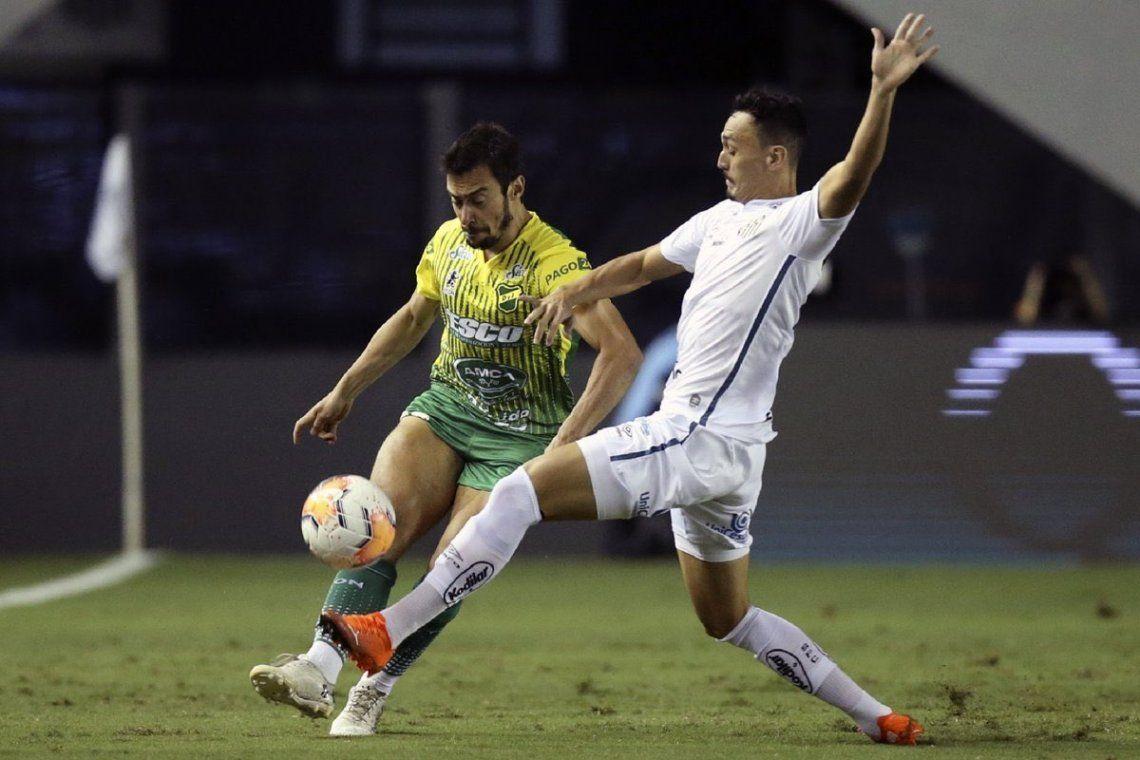 Copa Libertadores | Se le escapó: Defensa y Justicia quedó eliminado ante Santos por un gol en tiempo de descuento