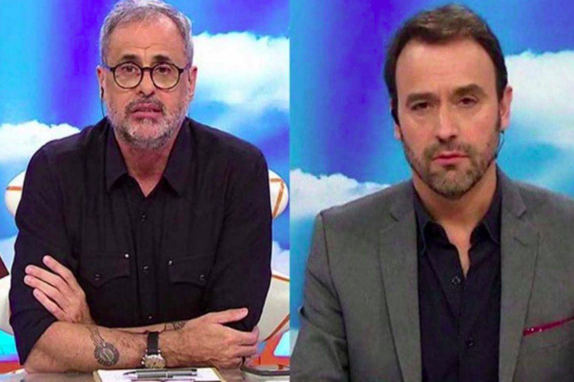 El cruce entre Jorge Rial y Adrián Pallares