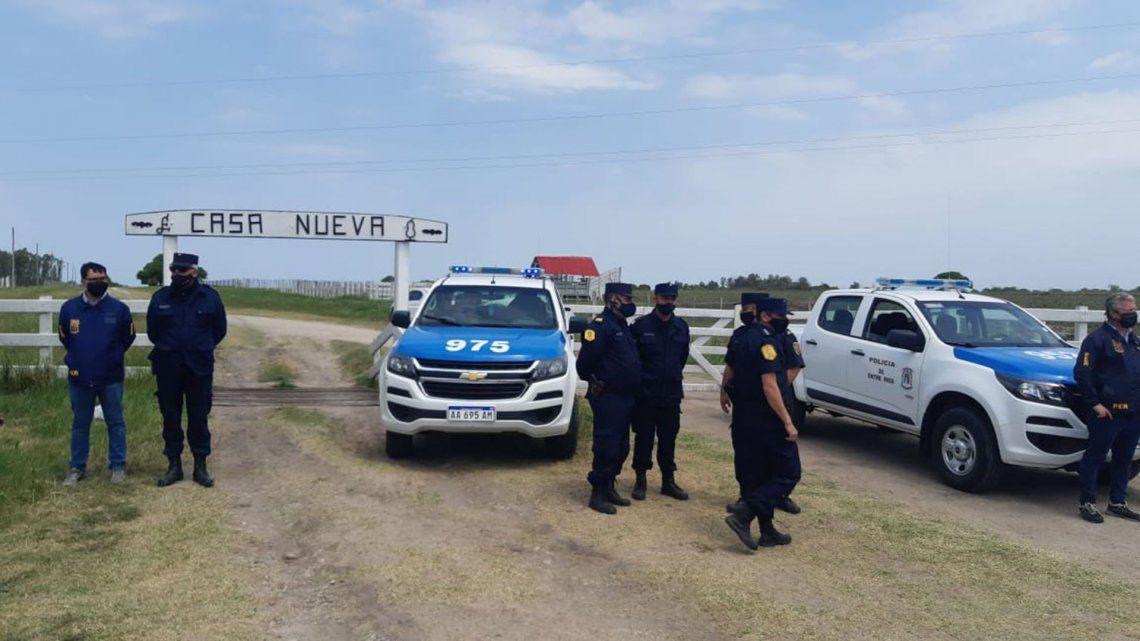 Toma de tierras en Entre Ríos: productores se manifiestan tras denuncia del exministro macrista Etchevehere