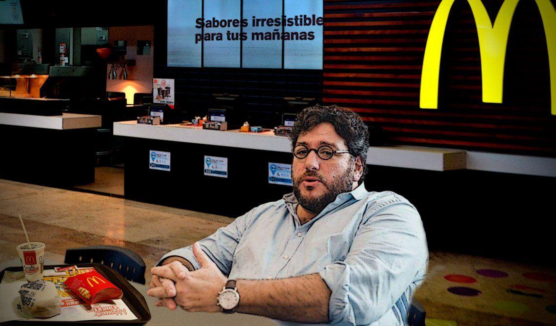 El ex funcionario y actual escritor del libro Primer Tiempo de Macri