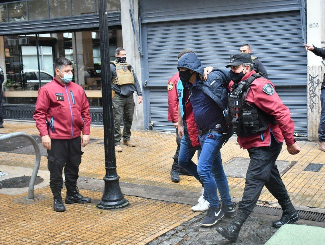Cuatro detenidos por una entradera en Monserrat