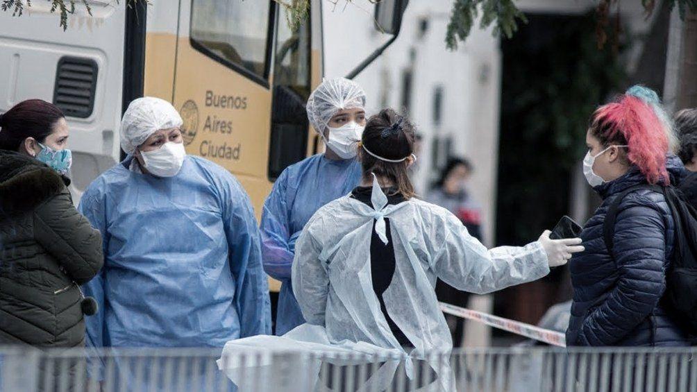 Coronavirus en Argentina: 438 muertes y 16.325 nuevos casos