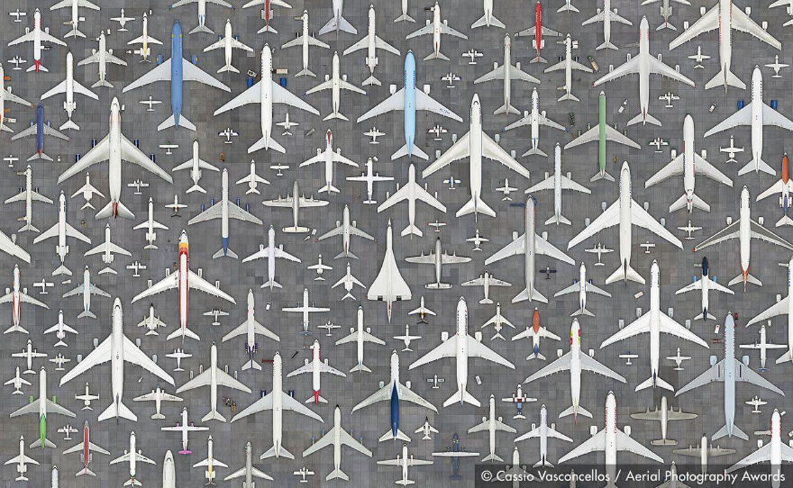 Primer lugar en categoría mejorada digitalmente: aviones