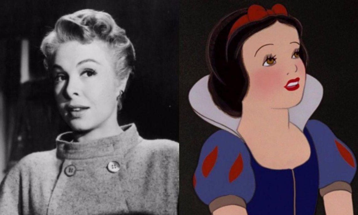 Marge Champion como Blancanieves