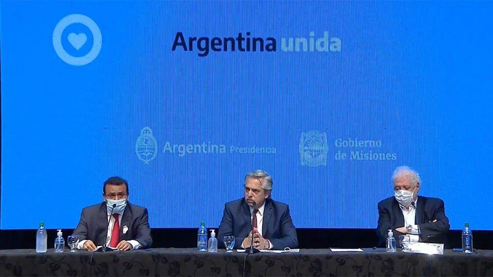 El presidente Alberto Fernández anunció la extensión del aislamiento social por 14 días más