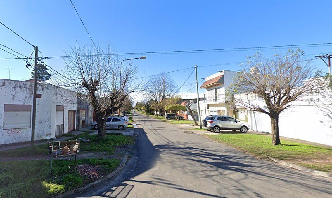 La calle 140 entre 46 y 47