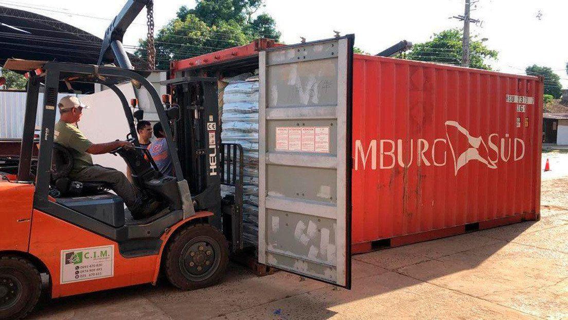 Paraguay: llega un contenedor desde Serbia con siete cadáveres