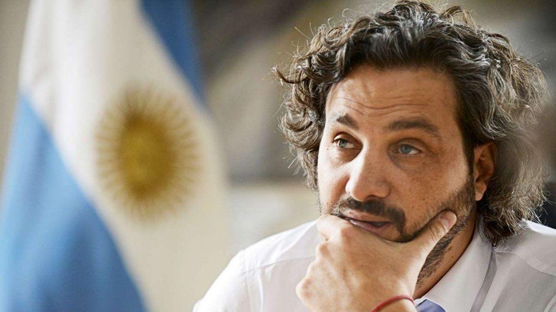 Santiago Cafiero pidió responsabilidad a la oposición en sus declaraciones.
