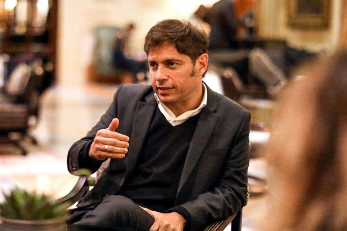 Axel Kicillof enfocado en la gestión de la provincia de Buenos Aires