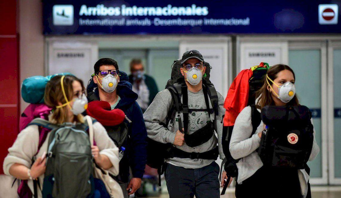 Coronavirus: el Gobierno abrirá las fronteras para el ingreso de turistas de países limítrofes