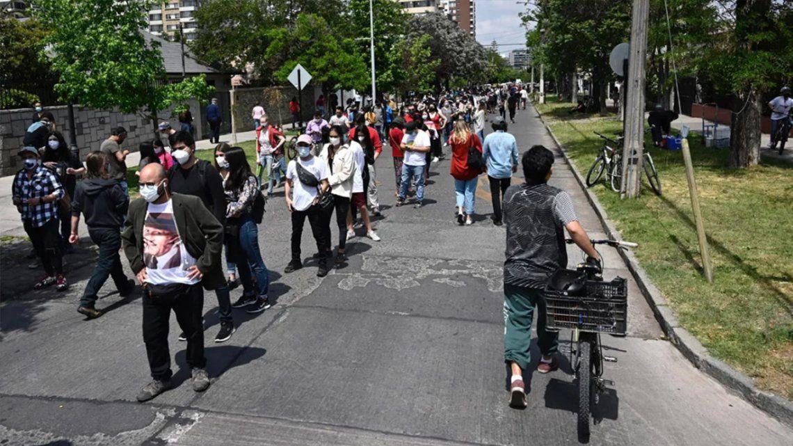 Plebiscito en Chile: la votación finalizó con tranquilidad y alta participación