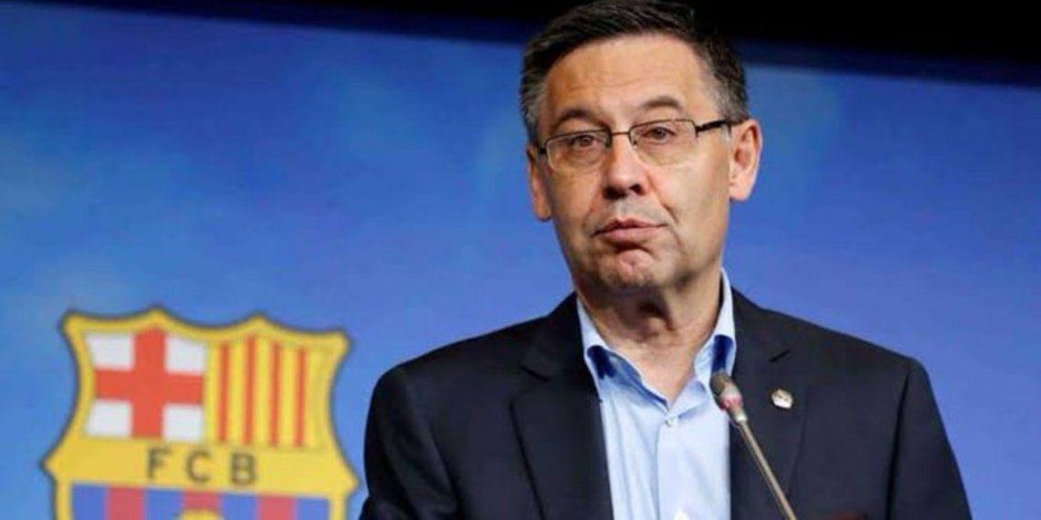 Barcelona FC: Bartomeu presentó su renuncia como presidente