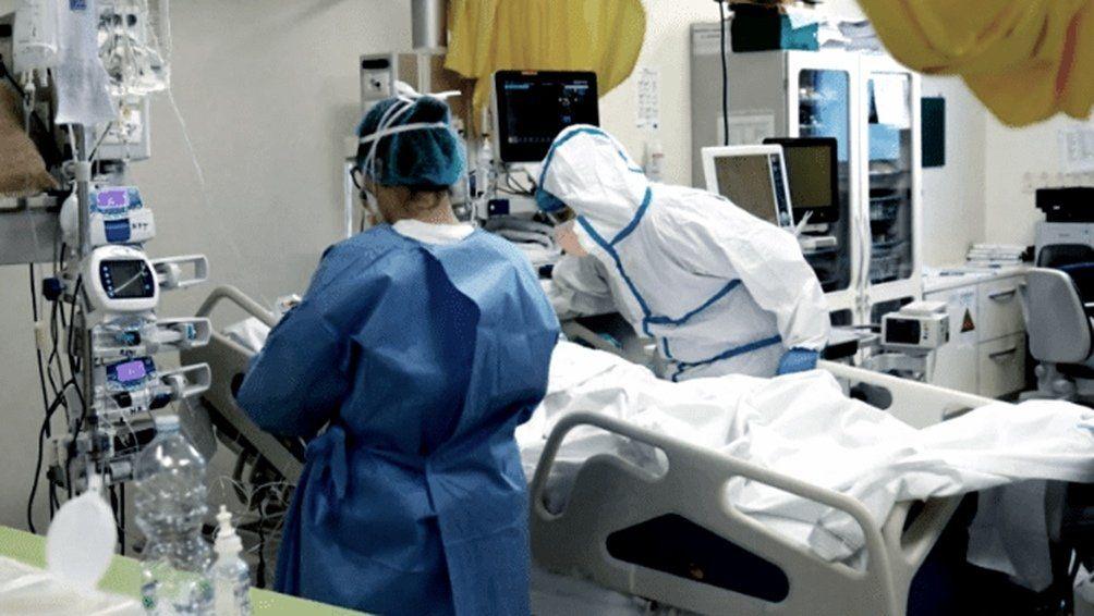 Un paciente de Coronavirus.