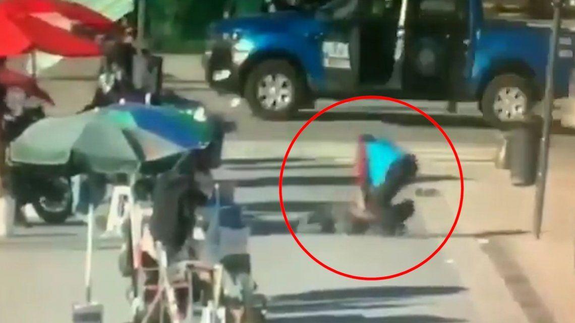 Retiro: murió el hombre que generó un tiroteo con dos policías heridos
