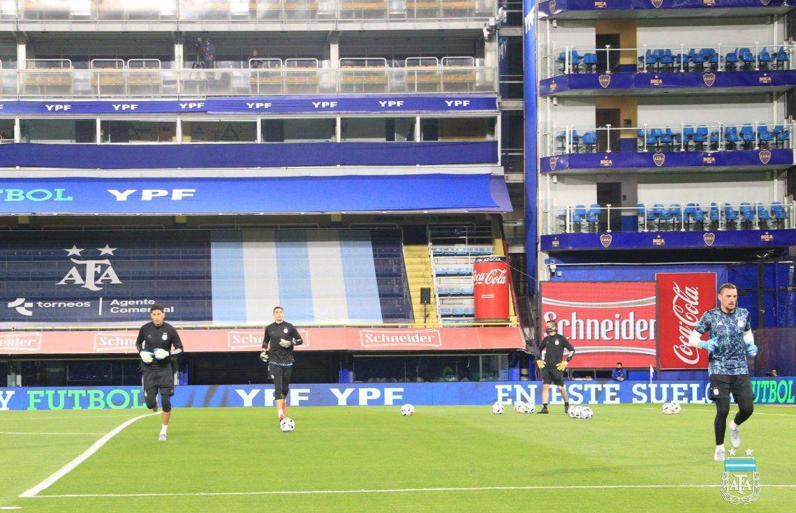 AFA confirmó que el partido frente a Paraguay se jugará en La Bombonera