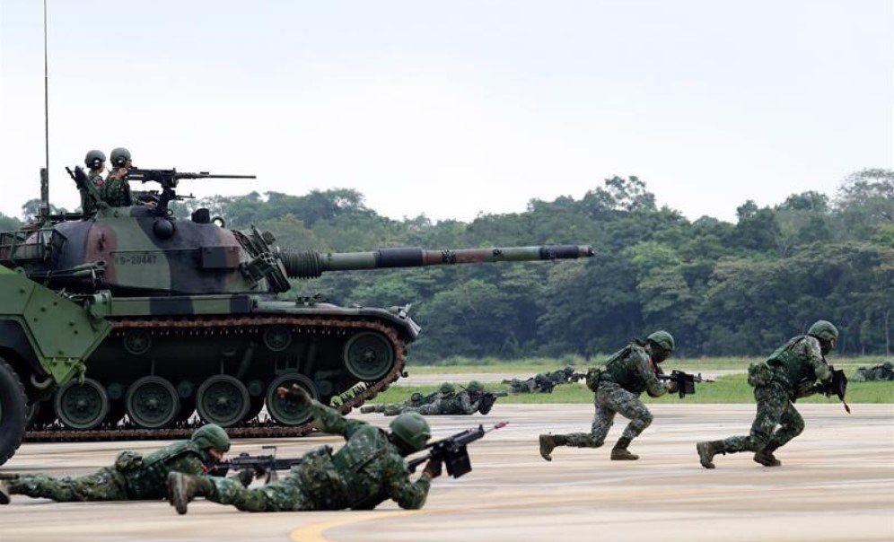 China le exige a Estados Unidos que frene inmediatamente su contacto militar con Taiwán