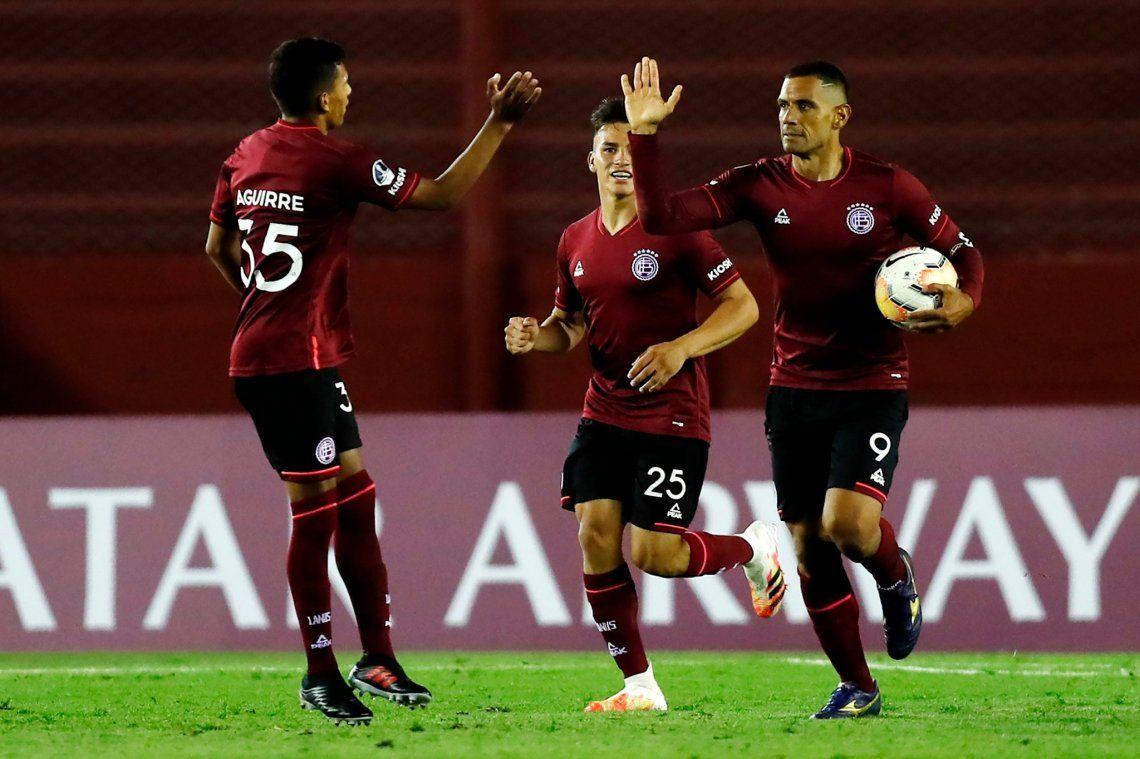 Copa Sudamericana | Un triunfo que ilusiona: Lanús derrotó a San Pablo por 3-2