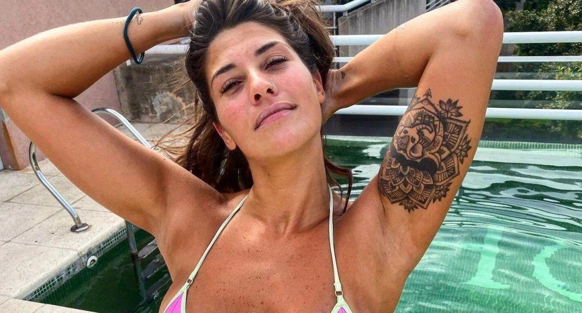 Ivana Nadal, en bikini y disfrutando del sol