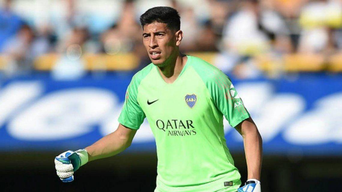 Boca: Se lesionó Andrada y se perdería al menos dos partidos
