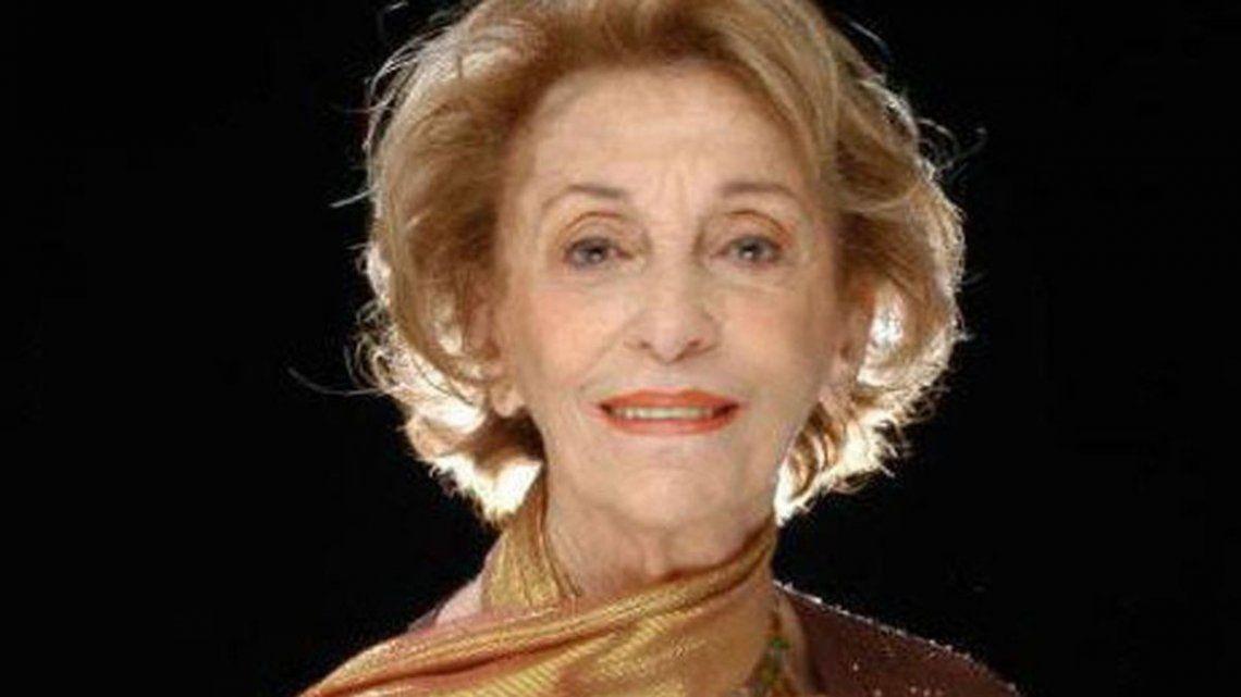Cumple 100 años Hilda Bernard, una figura del espectáculo argentino