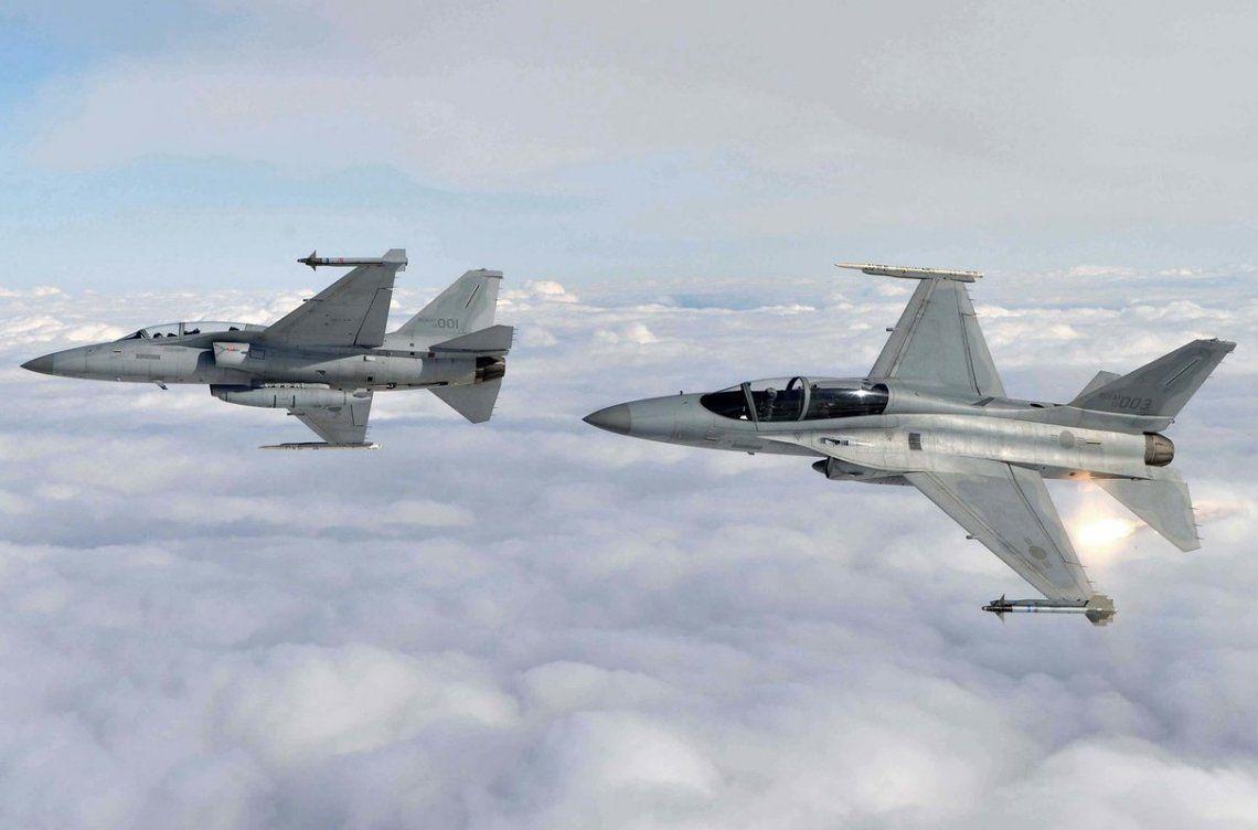 Reino Unido se opone que el Avión caza F-50 fabricado por la empresa coreana KAI