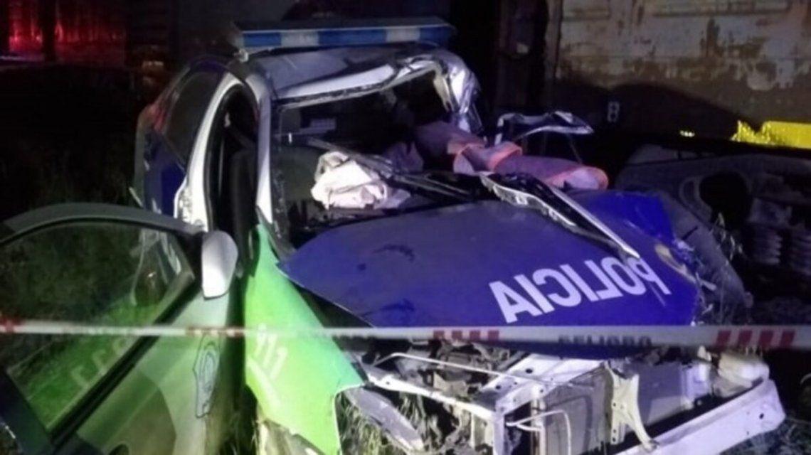Murió un policía tras chocar su patrullero contra un tren en Bahía Blanca