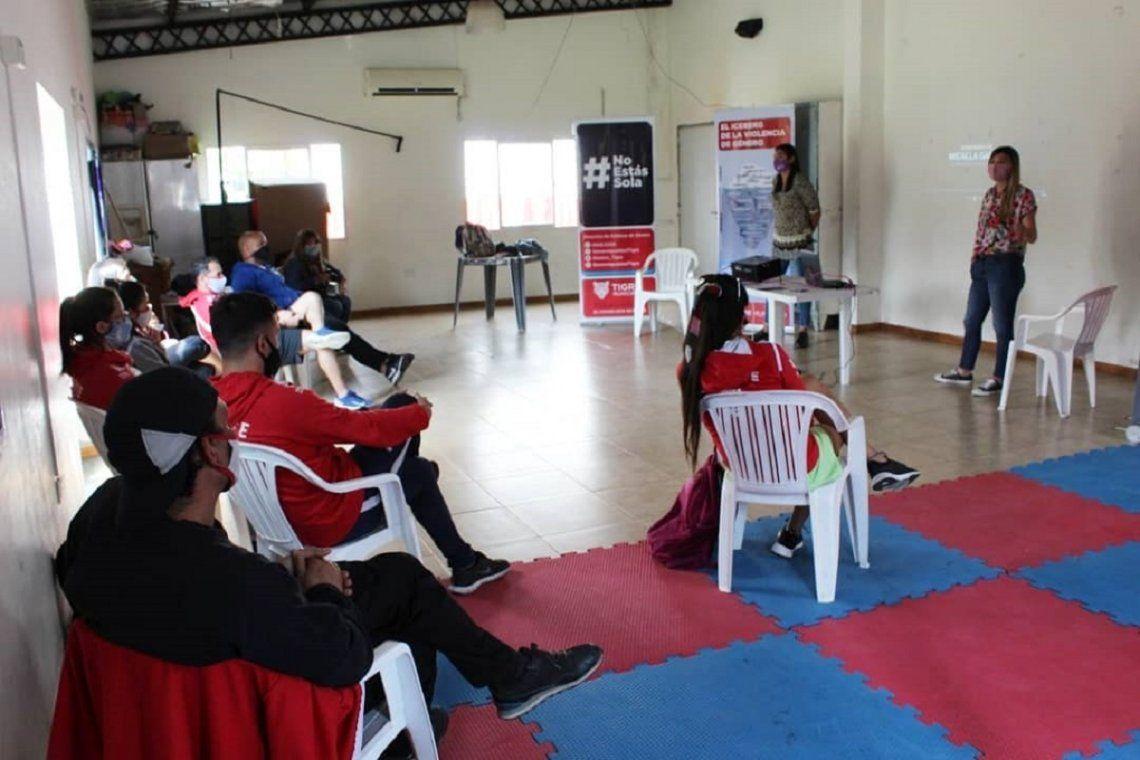 Continúan las capacitaciones en Tigre por la Ley Micaela