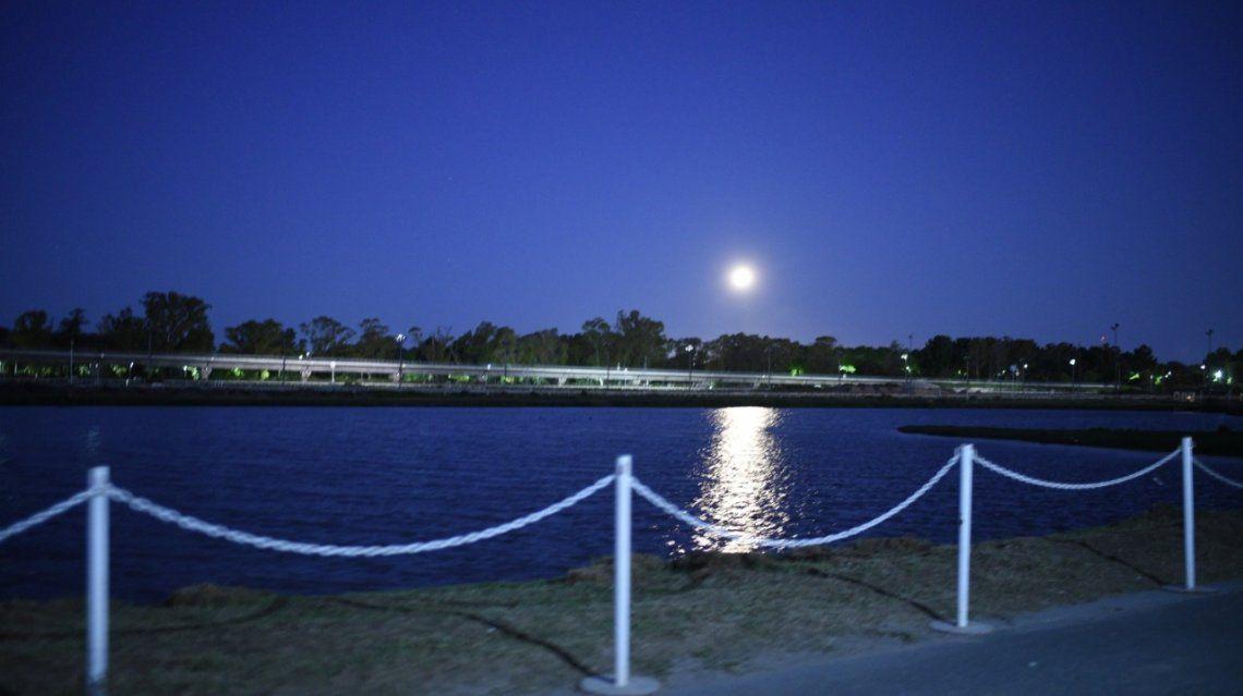 Lago artificial Hipódromo de Palermo