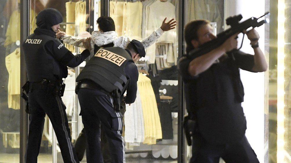Austria: el Estado Islámico se atribuyó el atentado en Viena