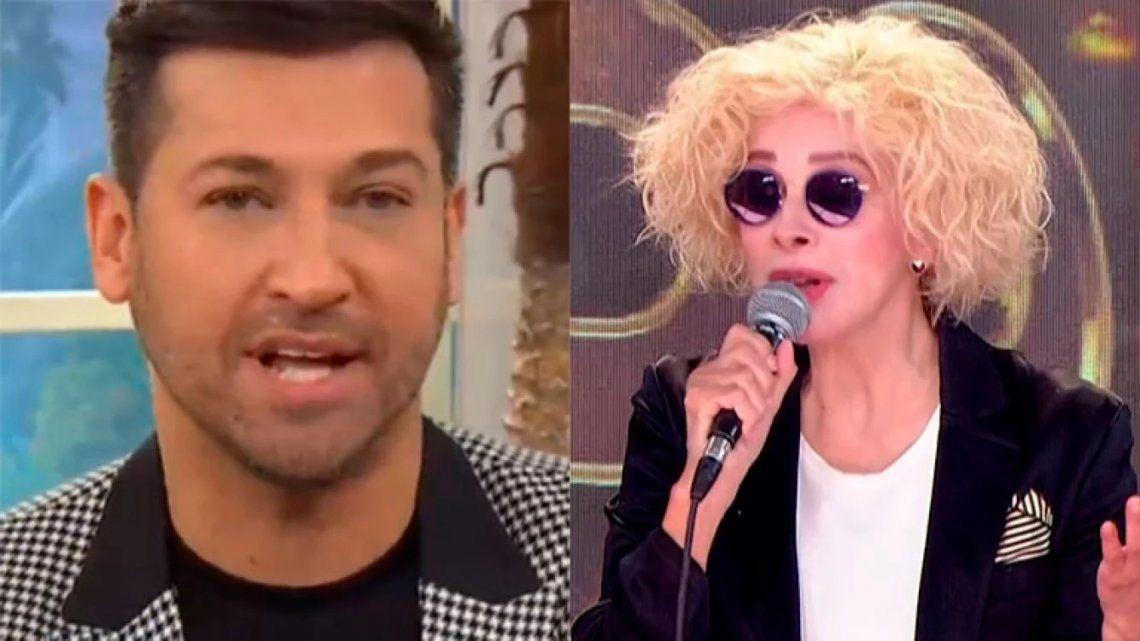 Cantando 2020: Nacha Guevara lapidaria con Pablo Ruiz