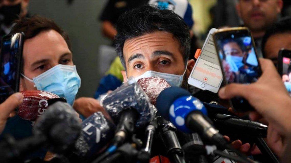Coronavirus: detectaron un caso donde está internado Diego Maradona