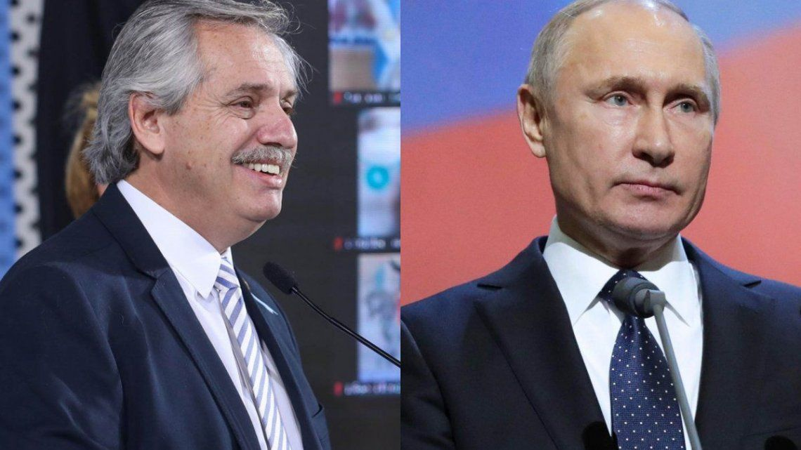 Sputnik V: Alberto Fernández y Vlñadimir Putin dialogaron sobre el uso de la vacuna en Argentina
