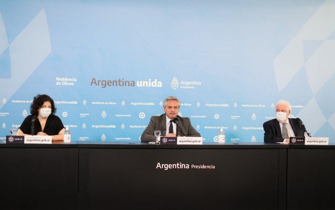 El presidente anunció el inicio del Distanciamiento Social en el Área Metropolitana de Buenos Aires