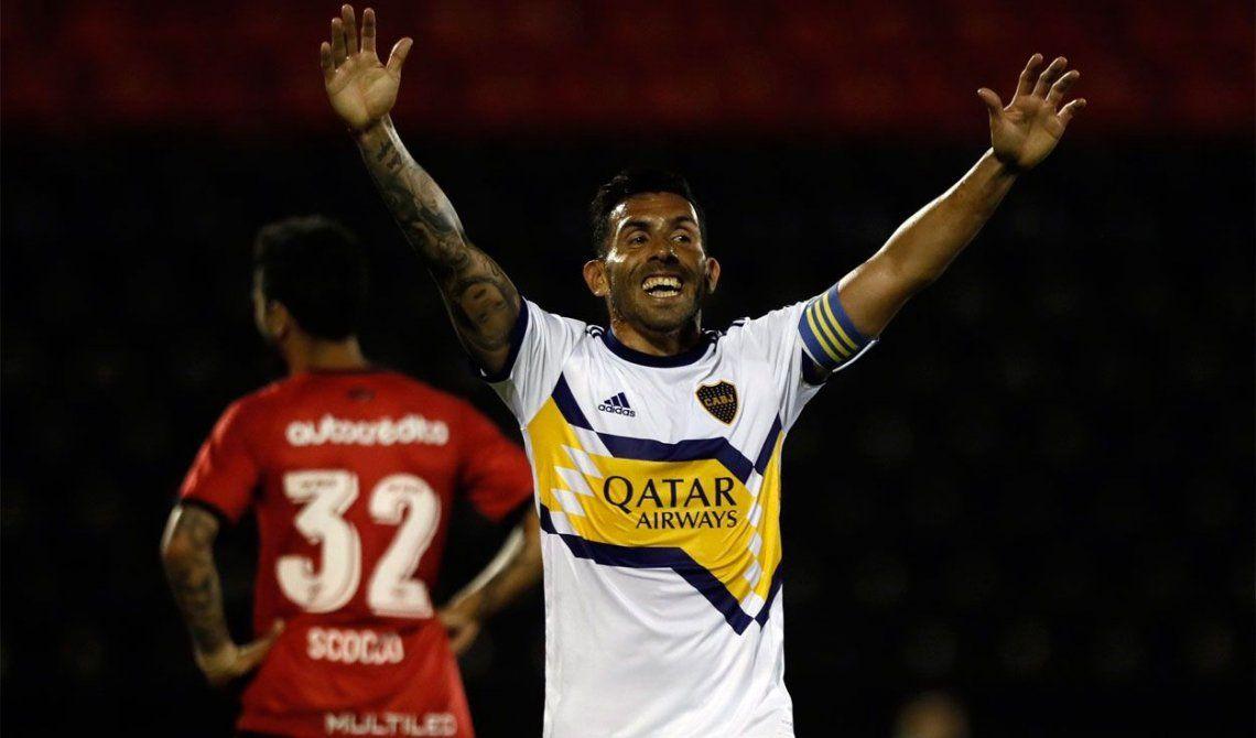 Carlos Tevez analizó el empate 1 a 1 de Boca ante Independiente.
