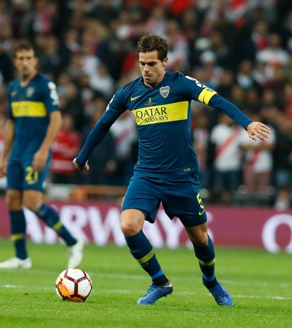 El último partido de Gago en Boca fue ante River en la final de la Copa Libertadores 2018 disputada en Madrid.