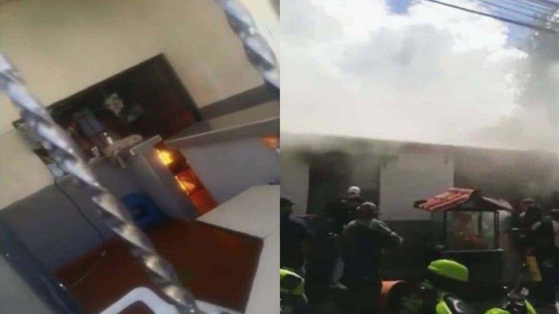 Colombia: denuncian el asesinato masivo de nueve jóvenes en una estación de policía