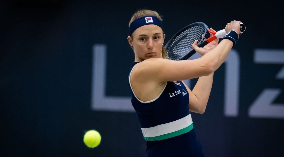 Nadia Podoroska debutó con un triunfo en el torneo de Linz
