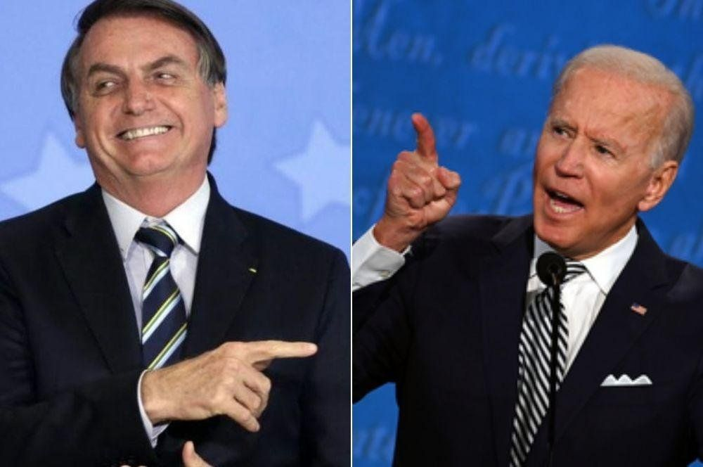 La dura advertencia de Bolsonaro a Biden: Cuando se acaba la saliva, tiene que haber pólvora
