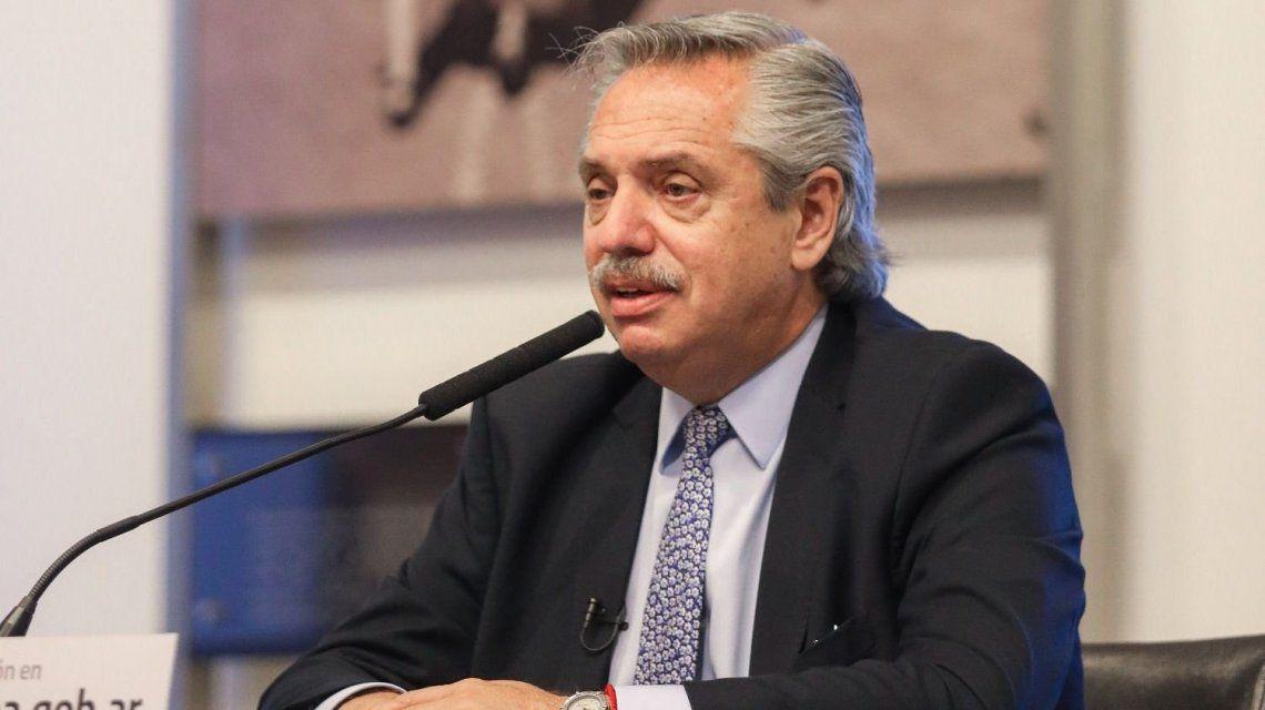 Fernández anunció obras en Río Luján y lanzó críticas a Vidal y a Cambiemos