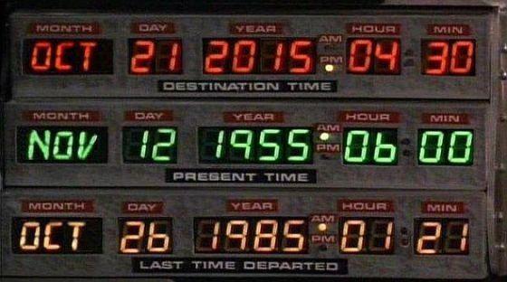 Volver al Futuro: 65 años desde que el reloj se detuvo