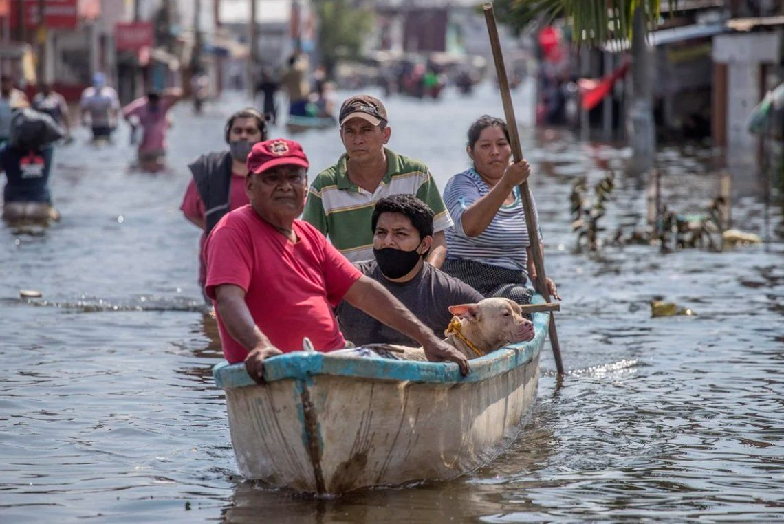En fotos: los destrozos e inundaciones provocados por la tormenta Eta