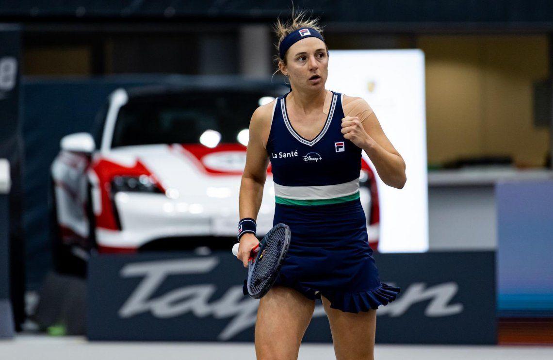 Nadia Podoroska volvió a ganar y ya está en cuartos
