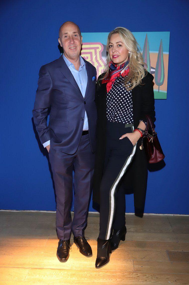 Carlos Morales y Rafaela Rubin