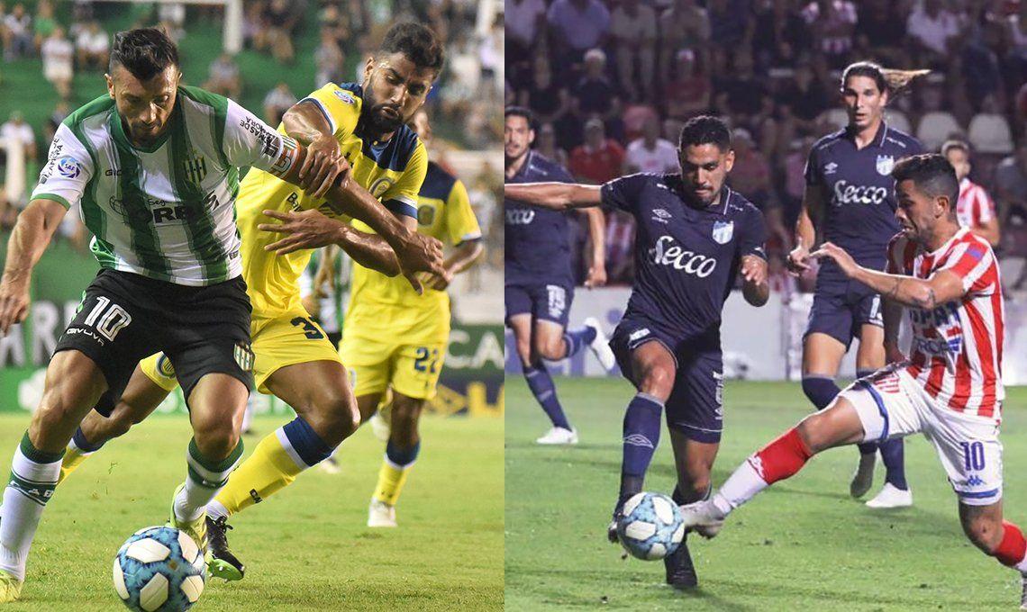 Dos choques decisivos: Rosario Central - Banfield y Atlético Tucumán - Unión