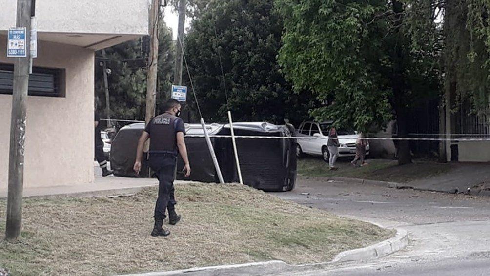 Raid delictivo en Quilmes.