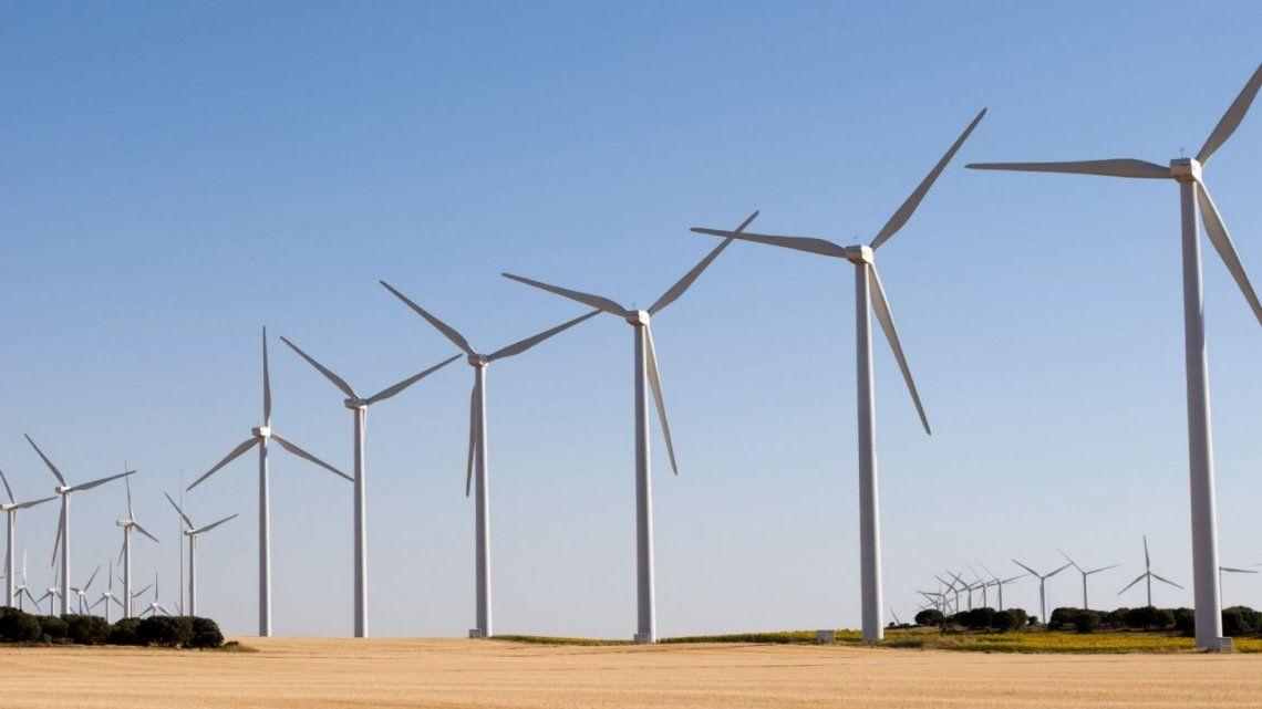 Energía eólica en Chubut.