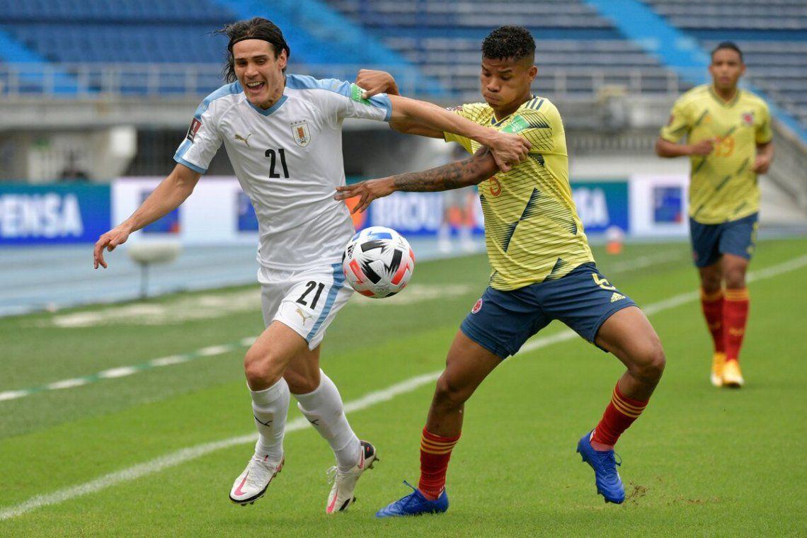 Valioso triunfo de Uruguay en Colombia