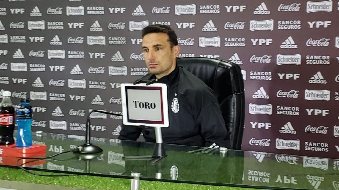 Scaloni espera por Tagliafico para definir el equipo ante Perú